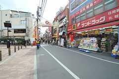 西武新宿線・野方駅前の様子。(2014-03-10,共用部,ENVIRONMENT,1F)