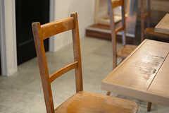 味のある椅子。(2017-07-10,共用部,LIVINGROOM,1F)