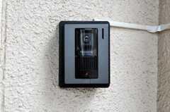 カメラ付きインターホンの様子。(2010-07-06,共用部,OTHER,2F)