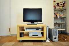 共用TVの様子。(2010-07-06,共用部,TV,2F)