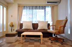 椅子は今後も増える予定。(2010-07-06,共用部,LIVINGROOM,2F)
