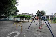 シェアハウスの目の前には公園があります。(2010-07-06,共用部,ENVIRONMENT,1F)