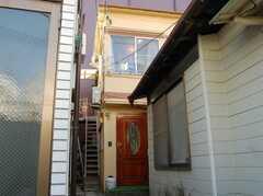 シェアハウス外観。(2008-02-27,共用部,OUTLOOK,1F)