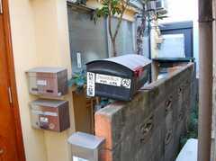 シェアハウスのポスト。(2008-02-27,共用部,OTHER,1F)