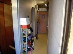 玄関から見た内部の様子。(2008-02-27,周辺環境,ENTRANCE,2F)
