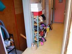 玄関から見た内部の様子2。(2008-02-27,周辺環境,ENTRANCE,2F)
