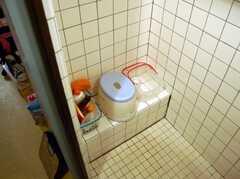 シャワールームの様子2。(2008-02-27,共用部,BATH,2F)
