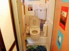 トイレの様子。(2008-02-27,共用部,TOILET,2F)