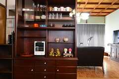 食器棚の様子。(2015-03-17,共用部,LIVINGROOM,1F)