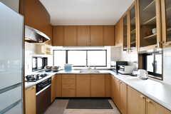 キッチンの様子。(2017-02-23,共用部,KITCHEN,4F)