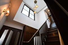 階段の様子。(2017-02-23,共用部,OTHER,4F)
