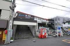 西武新宿線・鷺宮駅の様子。(2011-07-20,共用部,ENVIRONMENT,1F)