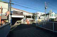西武新宿線・鷺ノ宮駅の様子。(2015-12-18,共用部,ENVIRONMENT,1F)