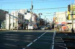 西武新宿線・鷺ノ宮駅前の様子。(2015-12-18,共用部,ENVIRONMENT,1F)