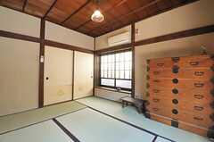 専有部の様子。和室です。(105号室)(2014-04-28,専有部,ROOM,1F)