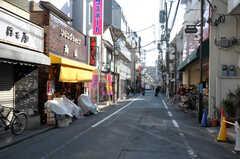 シェアハウスから西武新宿線・沼袋駅へ向かう道の様子。(2012-01-17,共用部,ENVIRONMENT,3F)