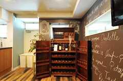 ワインセラーもボルドー製なのだそう。(2012-09-10,共用部,OTHER,2F)