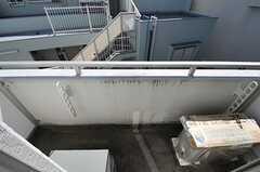 ベランダの様子。(303号室)(2012-09-10,専有部,ROOM,3F)