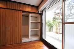 収納の様子。(106号室)(2012-09-10,専有部,ROOM,1F)