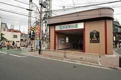 西武新宿線・沼袋駅の様子。(2012-09-10,共用部,ENVIRONMENT,1F)