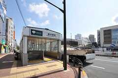 各線・東中野駅の様子。(2012-08-07,共用部,ENVIRONMENT,1F)