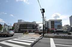 各線・東中野駅前の様子。(2012-08-07,共用部,ENVIRONMENT,1F)