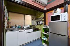 専用キッチンの様子。(101号室)(2019-08-29,専有部,ROOM,1F)