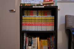 本棚の様子。三国志が全巻揃っています。(2020-05-21,共用部,OTHER,1F)