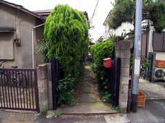 シェアハウスへと入る小道(2005-06-09,共用部,ENVIRONMENT,)