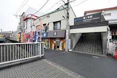 西部新宿線・鷺ノ宮駅の様子。(2012-01-23,共用部,ENVIRONMENT,1F)