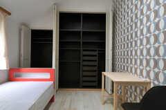収納の様子。(303号室)(2011-09-22,専有部,ROOM,3F)