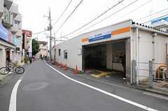 西武新宿線・都立家政駅の様子。(2012-04-16,共用部,ENVIRONMENT,3F)