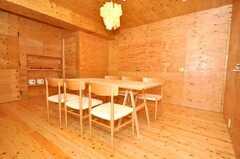 シェアハウスのラウンジの様子3。(2009-12-07,共用部,LIVINGROOM,3F)