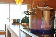 シェアハウスのキッチンの様子3。(2009-12-07,共用部,KITCHEN,3F)