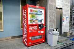 自動販売機もあります。(2009-12-07,共用部,OTHER,1F)