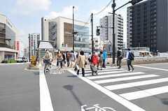 各線・東中野駅の様子。(2012-04-17,共用部,ENVIRONMENT,1F)