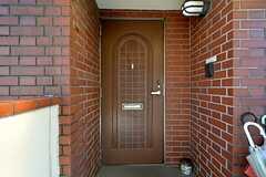玄関の様子。(2015-07-14,周辺環境,ENTRANCE,3F)