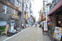 駅からの道のりはほとんど商店街の中を通ります。(2015-06-08,共用部,ENVIRONMENT,1F)