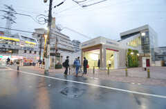 西武新宿線・野方駅の様子。(2014-11-25,共用部,ENVIRONMENT,1F)