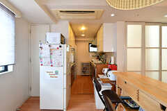キッチンの様子。(2019-08-09,共用部,KITCHEN,7F)