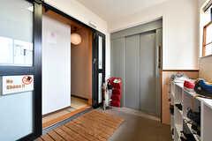 4階にも玄関があります。(2019-08-09,周辺環境,ENTRANCE,4F)