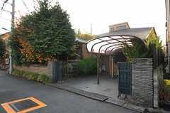 シェアハウスの外観。(2011-12-07,共用部,OUTLOOK,1F)