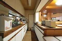 キッチンの様子2。(2011-12-07,共用部,KITCHEN,1F)