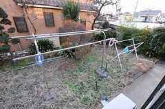 庭の様子。(102号室)(2013-01-07,専有部,ROOM,1F)
