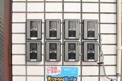 カメラ付きインターホンは、各部屋直通です。(2019-08-02,周辺環境,ENTRANCE,2F)