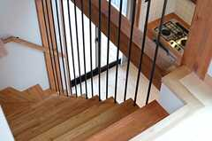 階段の様子2。(202号室)(2014-03-14,専有部,ROOM,3F)