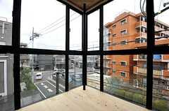 窓から見た外の景色。(204号室)(2014-03-14,専有部,ROOM,3F)