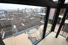 窓から見た外の景色。(206号室)(2014-03-14,専有部,ROOM,3F)