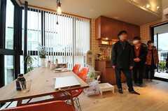 すでに入居されている専有部の様子。(207号室)(2014-03-14,専有部,ROOM,2F)