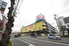 各線・平和台駅周辺にある大型スーパー。(2014-03-14,共用部,ENVIRONMENT,1F)